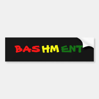 Bashment Bumper Sticker