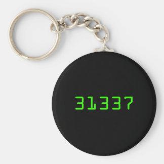 Basic 31337 Keychain
