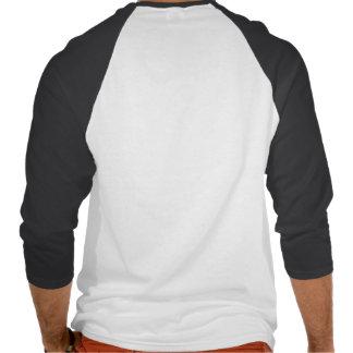 Basic 3/4 Sleeve Raglan, White/Black lips Tee Shirts