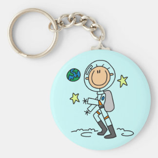 Basic Astronaut Tshirts and Gifts Key Chains