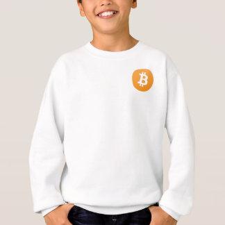 basic bitcoin line sweatshirt