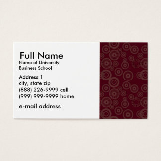 Basic Business Card for Students or Company