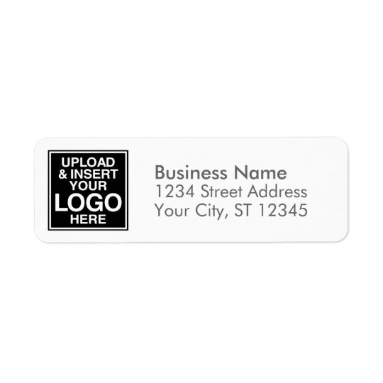 Basic Business Design for Logos Return Address Label