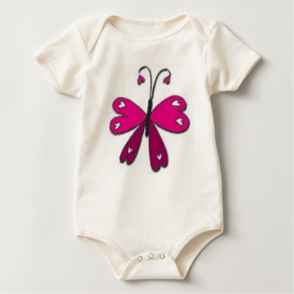 Basic Butterfly Baby Bodysuit