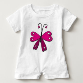 Basic Butterfly Baby Bodysuit