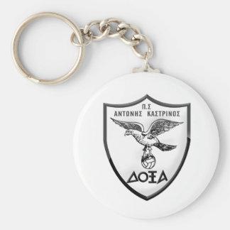 Basic Button Keychain/ΜΠΡΕΛΟΚ Key Ring