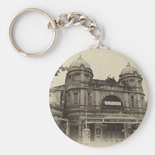 Basic Button Keychain Buxton Opera House