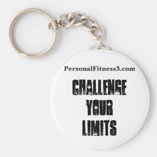 Basic Button Keychain - Challenge Your Limits