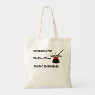 Basic CanvasTote Kindergarten Magic Tote Bag