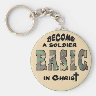 BASIC CHRISTIAN ACRONYM - SOLDIER IN CHRIST KEY CHAIN