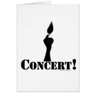 Basic Concert Card