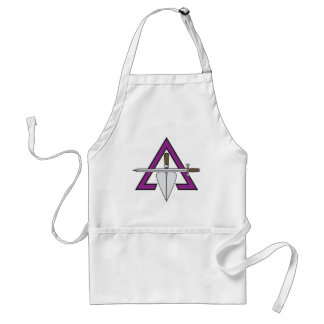 BASIC CRYPTIC MASONIC CHEF'S APRON