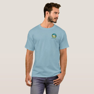Basic dark color, small logo T-Shirt
