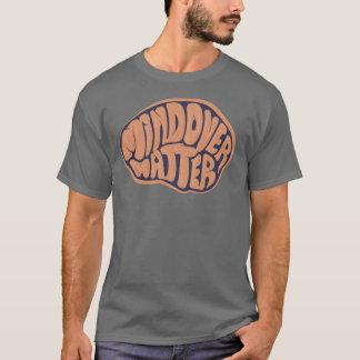 Basic Dark Mind Over Matter T with orange logo T-Shirt