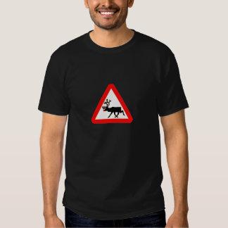 Basic Dark T-shirt, reindeer Tshirt