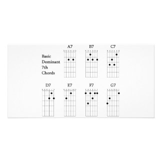Basic Dominant Seventh Chords Picture Card