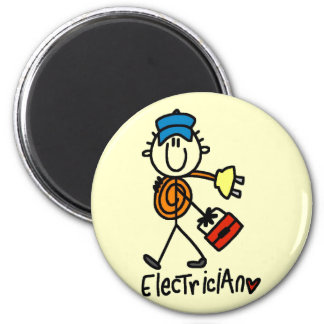 Basic Electrician Tshirts and Gifts Fridge Magnet