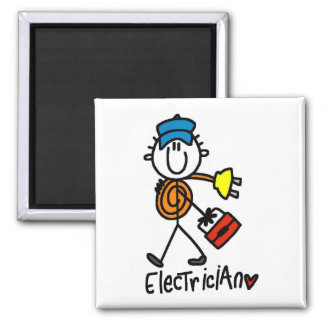 Basic Electrician Tshirts and Gifts Magnets