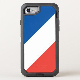 Basic French Flag OtterBox Defender iPhone 8/7 Case