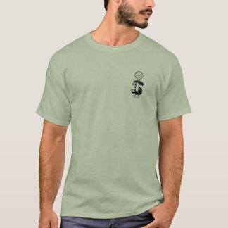 basic front logo and back print T-Shirt