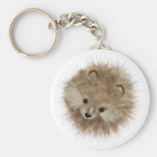 Basic Fur-ball Key Ring