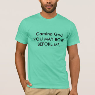 Basic gaming T-shirt