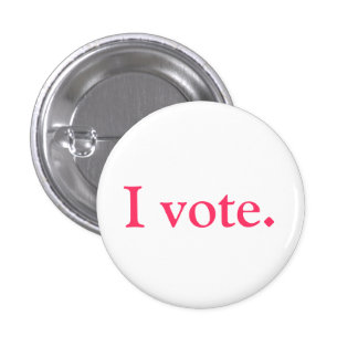 Basic grlsvote button An original Pins