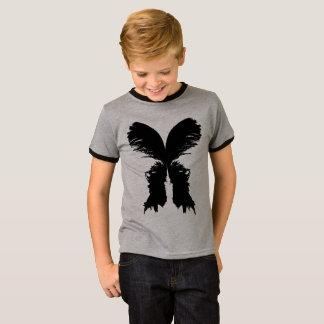 Basic hem Tee-shirt short-nap cloth-of-neck, T-Shirt