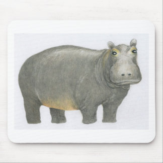 Basic Hippo Mouse Pad