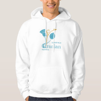 Basic Hooded Sweatshirt, White - EIF Design & Logo Hoodie