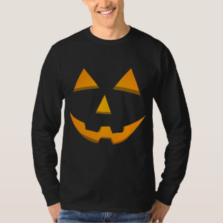 Basic Jack-O-Lantern Shape Dark T-Shirt