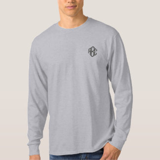Basic Long Sleeve Grey Monogram