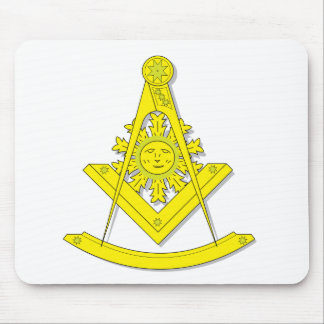 BASIC MASONIC PAST MASTER MOUSEPAD
