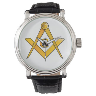 BASIC MASONIC WRIST WATCH