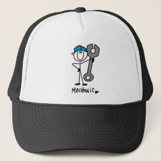 Basic Mechanic T-shirts and Gifts Trucker Hat