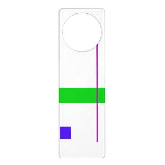 Basic Minimalism Door Hanger