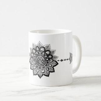 Basic Mug with Mandala Arrow