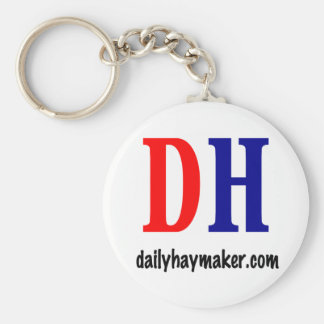 basic oval dh logo key chain
