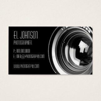 Basic Photography Business Card (Noir)