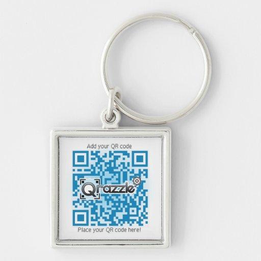 Basic QR code products Keychain