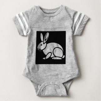 Basic Rabbit Baby Bodysuit