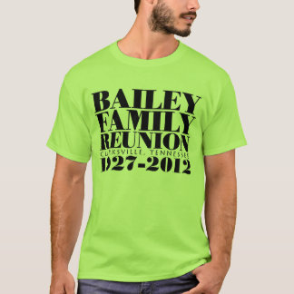 Basic Reunion Design T-Shirt