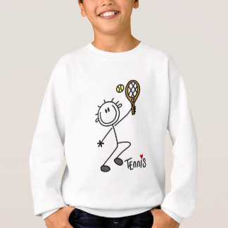 Basic Stick Figure Tennis Tshirts and Gifts
