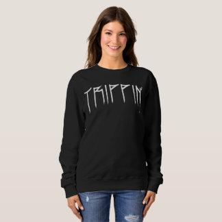 Basic Suéter feminine Trippin' Sweatshirt