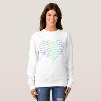 BASIC sweatshirt Hearthbeats 1