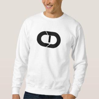 Basic Sweatshirt, White CD Sweatshirt