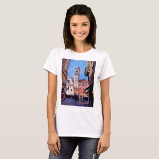 Basic t-shirt featuring Venetian church