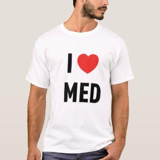 Basic t-shirt I Love Med