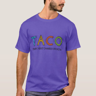 Basic TACO T-Shirt, Purple T-Shirt