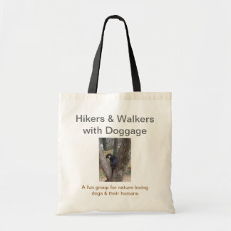 Basic Tote: Hikers & Walkers with Doggage Tote Bag